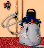 Power flushing can improve             system performance